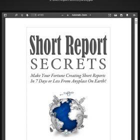 Download Jack Duncan - Short Report Secrets