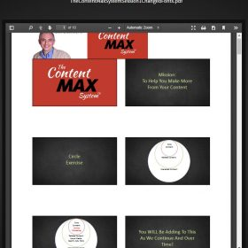 Download Don Crowther - The Content Max System