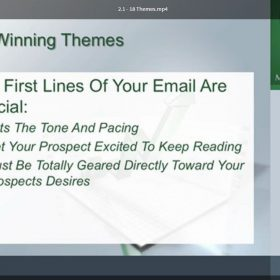 Download Tony Flores - The Email Millionaires System