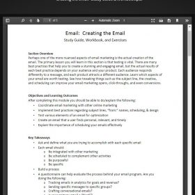 Download MarketMotive - Email Marketing Certification Course