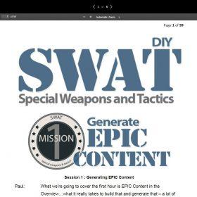 Download Carrie Wilkerson and Paul Evans - DIY SWAT
