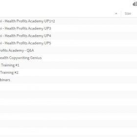 Download Buck Rizvi - Health Profits Academy (+LIVE)