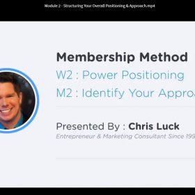 Download Chris Luck - Membership Method