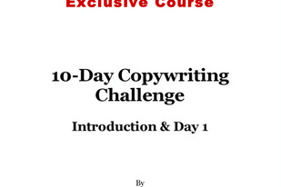 Download Jimmy D. Brown - 10 Day Copywriting Challenge