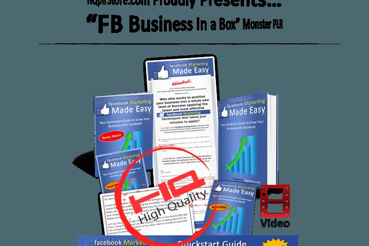 Facebook Business in a Box PLR (REQ)