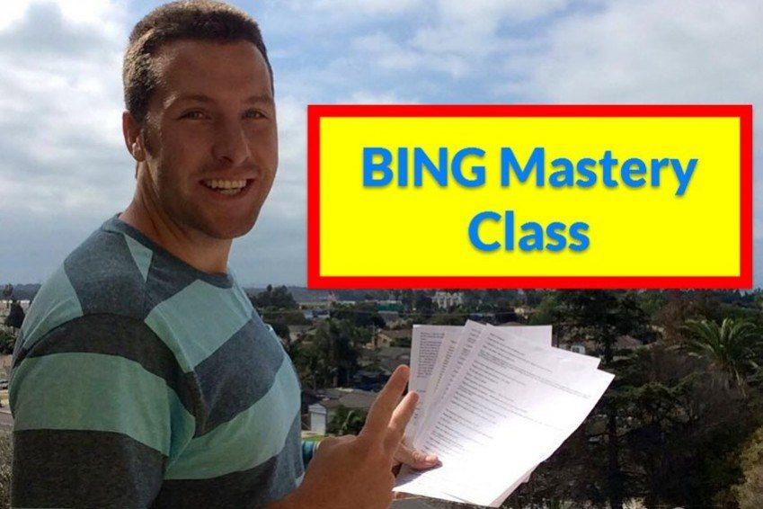 Scott Raley - BING Mastery Class
