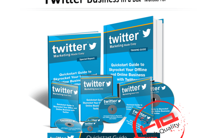 Twitter Business In a Box PLR