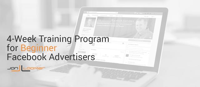 Download Jon Loomer – Facebook for Beginner Advertisers 4-Week Training Program