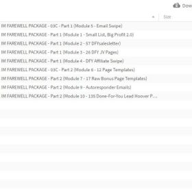 Download Henry Gold - IM Farewell Package