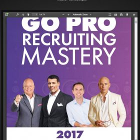 Download Eric Worre – Go Pro Recruiting Mastery 2017