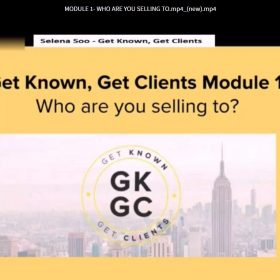 Selena Soo – Get Known, Get Clients