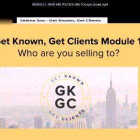 Download Selena Soo – Get Known, Get Clients