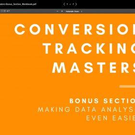 Download Justin Brooke, John Belcher – Conversion Tracking Masters
