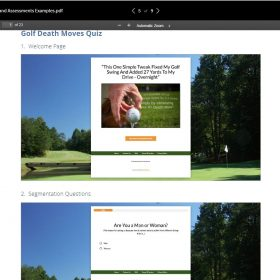 Download Ryan Levesque – Ultimate Quiz Funnel Bundle