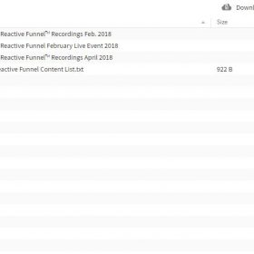 Download Trey Lewellen – Reactive Funnel