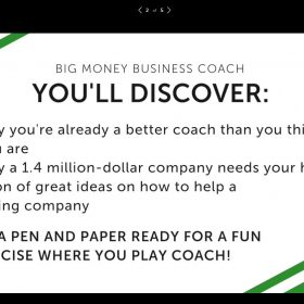 Download Christian Mickelsen – Big Money Business Coach 2018 (Bundle)