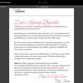 Download Jenna Soard – The Course Launcher