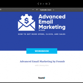 Download Foundr – Advanced Email Marketing