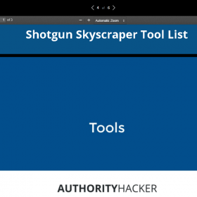 Mark Webster (Authority Hacker) – The Shotgun Skyscraper Blueprint