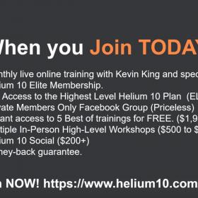 Download Helium 10 Elite - Amazon FBA Mastermind
