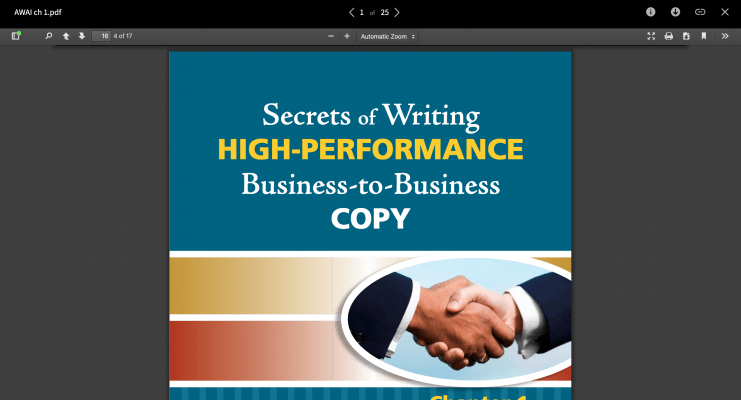 Download Katie Yeakle – Secrets of Writing HIGH-PERFORMANCE Business-to-Business Copy