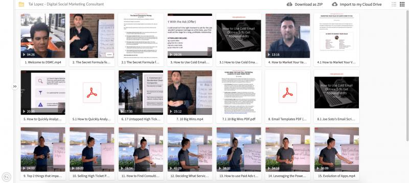 Download Tai Lopez – Digital Social Marketing Consultant