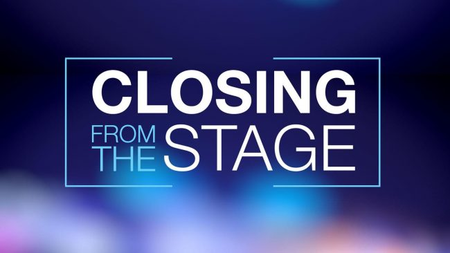 Steve Olsher – Closing From the Stage