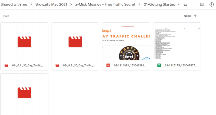 Download Mick Meaney – Free Traffic Secret
